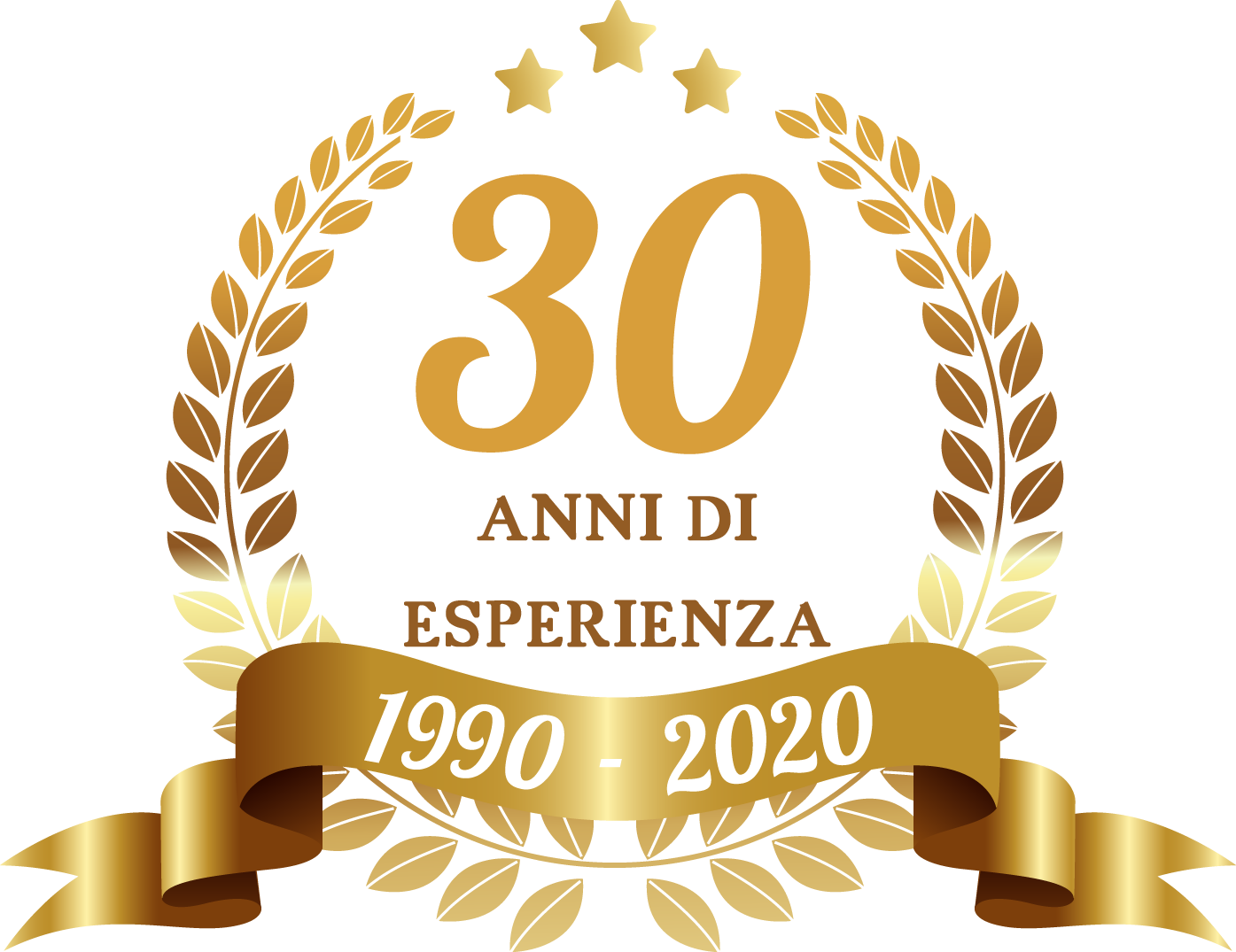 30 anni di esperienza